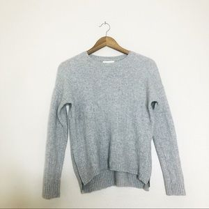 Cynthia Rowley 100% Cashmere Sweater Side Zip